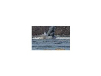 WOE90 Embrey Dam First Explosion Fredericksburg Va 01012 Photo Small Wildlife