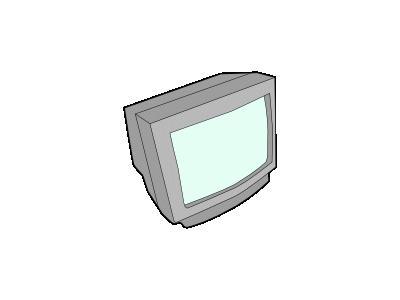 Crt Monitor 01 Computer