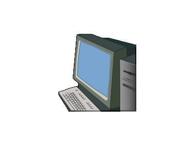 Green Computer Merzok 01 Computer