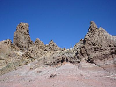 Photo Big Volcanic Rocks Landscape