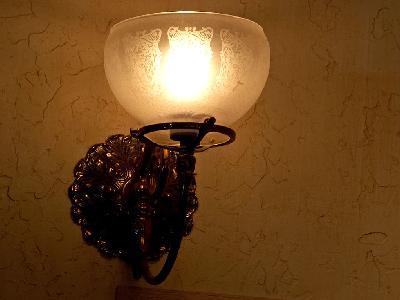 Photo Big Wall Lamp Light Object