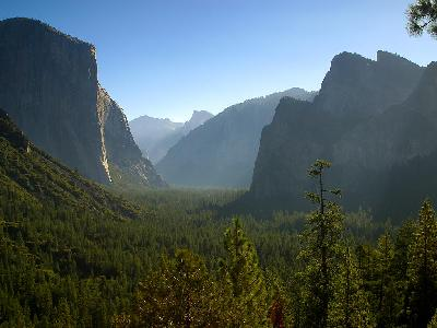 Photo Big Yosemite Morning Travel