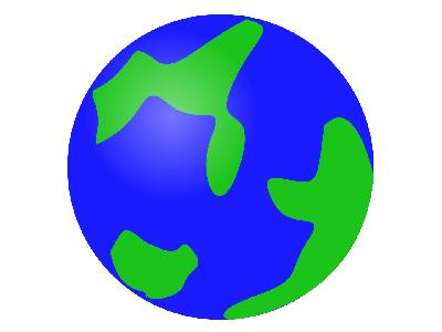 Svg Globe Green Big Geography