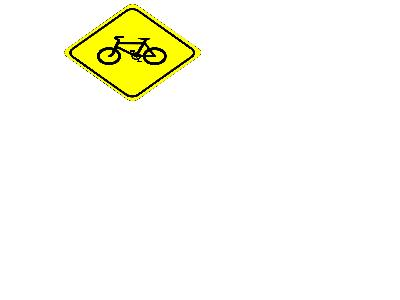 Watch For Bicycles Sign 01 Big Transport