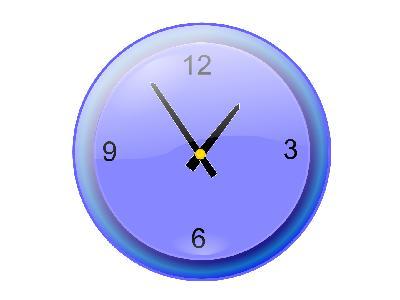 Analog Clock Jonathan Di 01 Big Symbol
