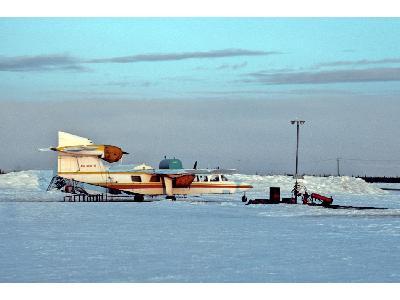 Air North Airplane In Winter 00022 Photo Big Wildlife