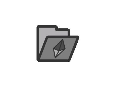 Folder Crystal Computer