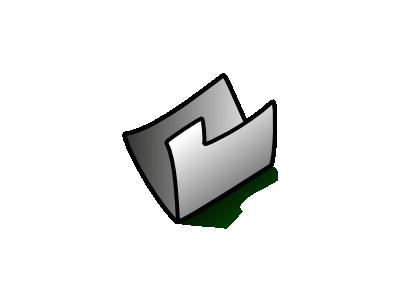 Folder Grey Computer