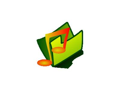 Folder Sound Computer