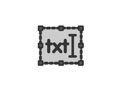 Frame Text Computer