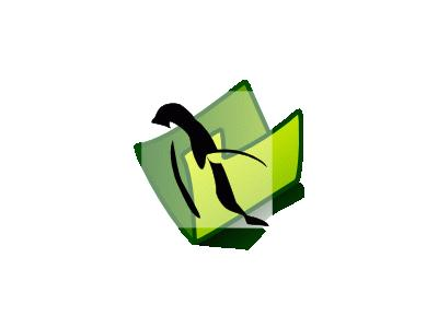 Folder Penguin Computer