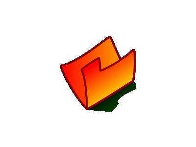 Folder Red Computer