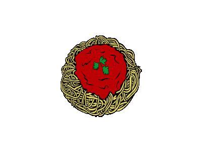 Spaghetti Ganson Food