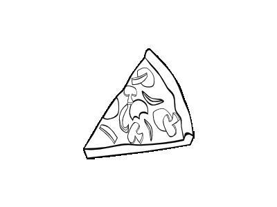 Pizza Pepperoni Bw Food