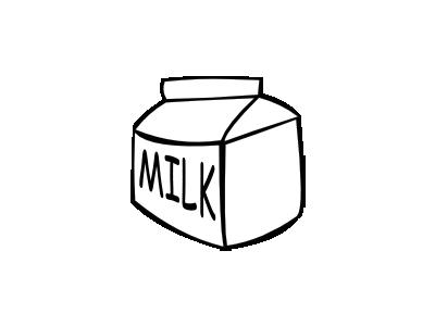 MILK BW Food
