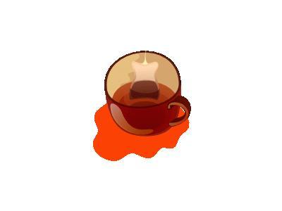 Kubek Herbaty   Mug Of  01 Food