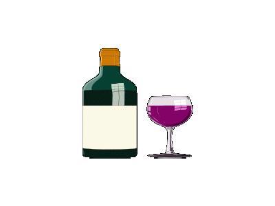 Bottiglia Di Vino Pregi 01 Food