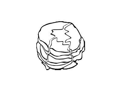Pancakes Bw Food
