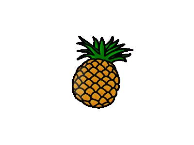Pineapple Food