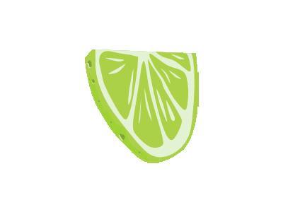 Lime Half Slice Ganson Food