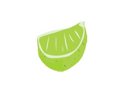 Lime Wedge Ganson Food
