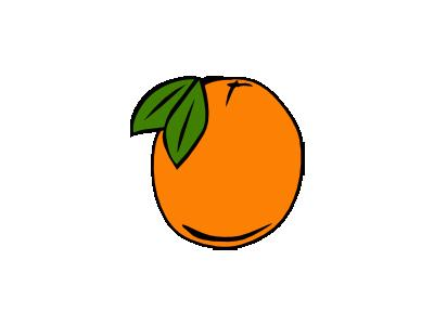 Orange Simple Food