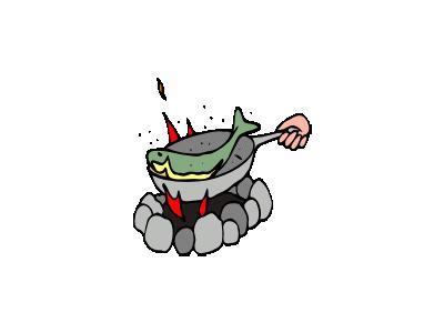Fuoco Da Campeggio Archi 01 Food