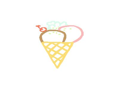 Ice Cream Cone Linda Kim 01 Food