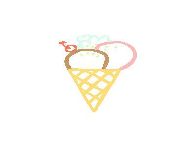 Ice Cream Cone Linda Kim 01 Food