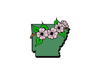 Arkansas Symbol Ganson Geography