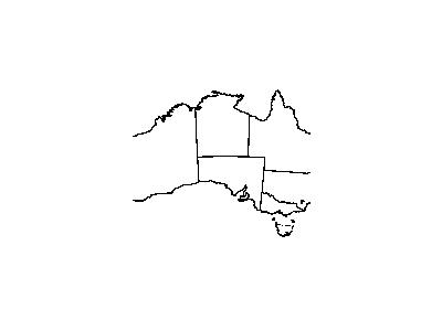 Australia Outline With Boundaries Geography