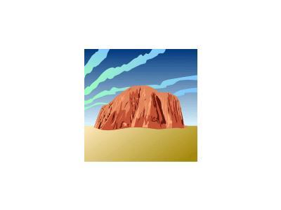 Ayers Rock Ganson Geography