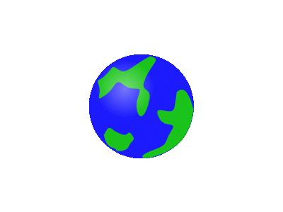 Svg Globe Green Geography