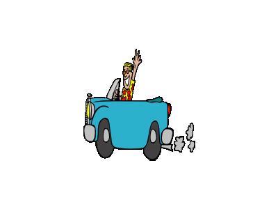 Car Ride Ganson People