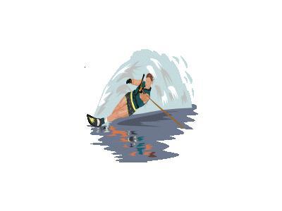 Water Skier Ganson People