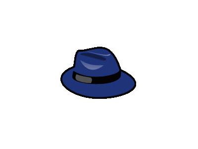 Blue Fedora People