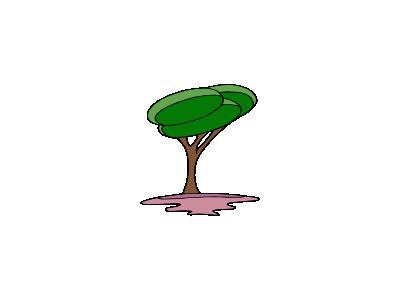 Arbre Modern Jean Victor 01 Plants