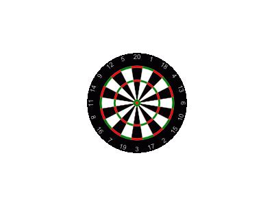 Dartboard Ruud Steltenpo 01 Recreation