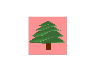 Simple Evergreen With Highlights 01 Recreation