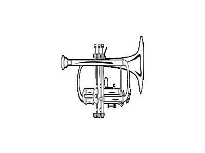 Trumpet B Flat  Ganson Recreation