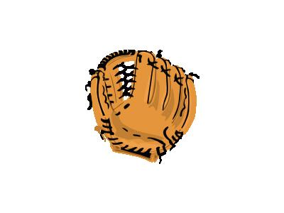 Baseball Glove Ganson Recreation