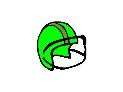Football Helmet Gerald G 01 Recreation