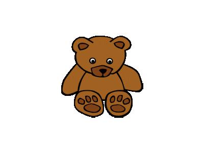 Simple Teddy Bear Gerald 01 Recreation