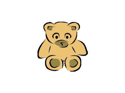 Stylized Teddy Bear Gera 01 Recreation