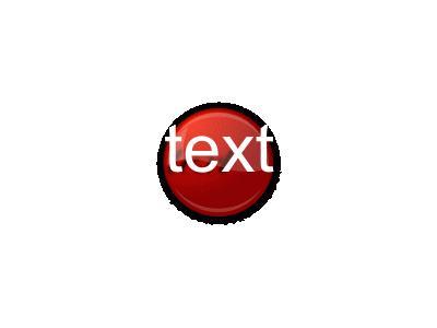 Fancy Red Button Matt To 01 Shape