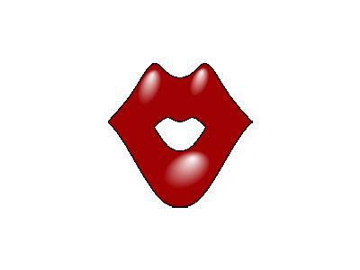 Red Lips 02 Shape