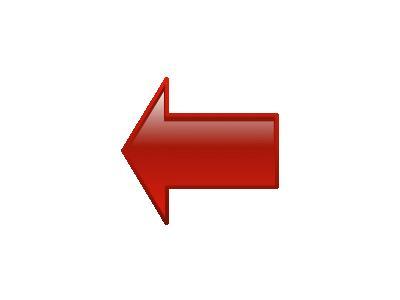 Arrow Left Red Benji Par 01 Shape