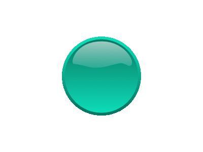 Button Seagreen Benji Pa 01 Shape