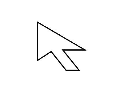 Cursor Arrow Martin Koz  02 Shape