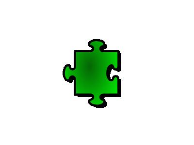 Jigsaw Green 07 Shape